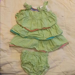 Top with diaper cover